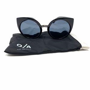 Quay Australia Black China Doll Sunglasses